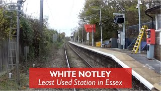 White Notley - Least Used Station In Essex