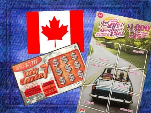 Wow! Canada Lottery Scratch Off Tickets