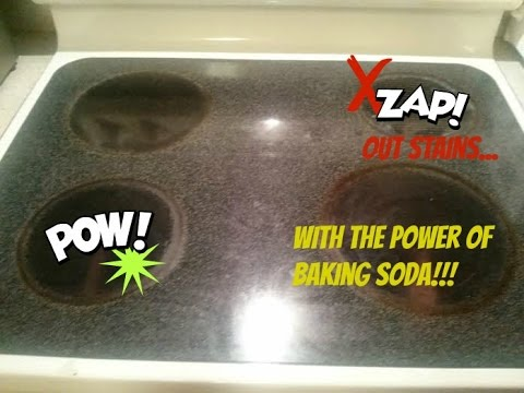 How to Clean Your Glass or Ceramic Stove Top!