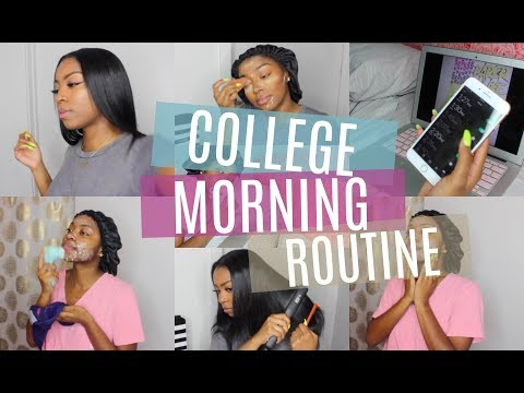 SUMMER COLLEGE MORNING ROUTINE 2018 + GIVEAWAY!