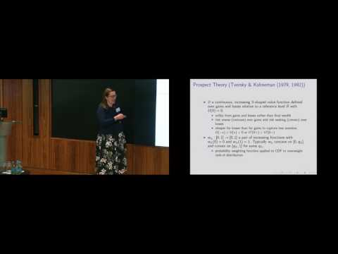 Probability Weighting, Stop-Loss and the Disposition Effect by Vicky Henderson