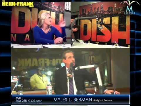 Guest appearance on Heidi & Frank on KLOS 95.5 FM, 11/21/14