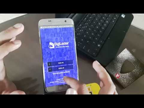 HOW TO USE THE DigiLocker APP  IN YOUR SMARTPHONE TO STORE DOCUMENTS ( PLEASE SUBSCRIBE)