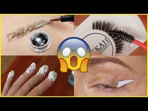 Testing Viral Facebook Beauty Hacks! | Jade Madden