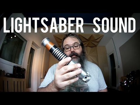 LIGHTSABER SOUND - Easy Tutorial and Free Sounds!
