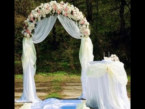 How To Build A Wedding Arch - Step By Step Ideas