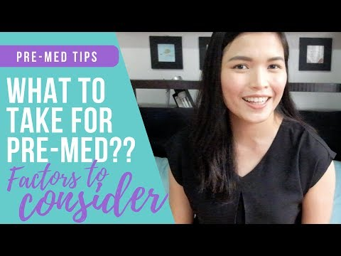 How To Choose Your Pre-Med/College Course (What's the Best Pre-Med PART 1) || DoktAURA