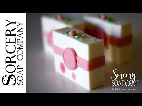 Soap Molding with Soap Dough by Sorcery Soap™