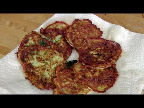 Zucchini Fritters - Recipe by Laura Vitale - Laura in the Kitchen Episode 186