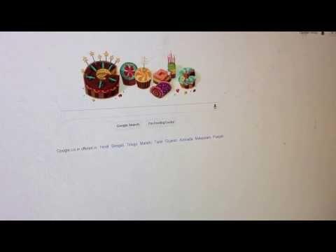 Birthday Wish From Google