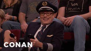 Andy Daly Is Captain Darren Danendernen: Hero Pilot  - CONAN on TBS
