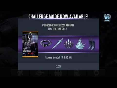 Injustice: Gods Among Us - Killer Frost Challenge News