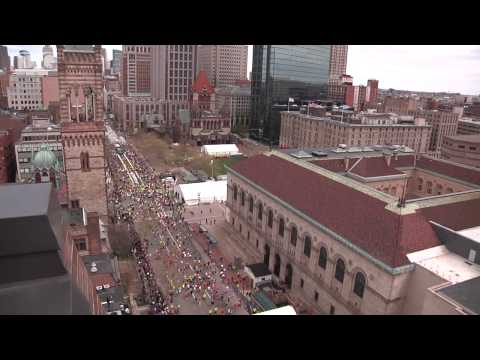 RFID, text messages track and relay information about Boston Marathon runners