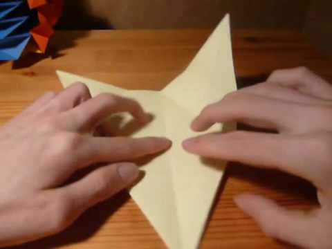 Origami six pointed star by David Petty