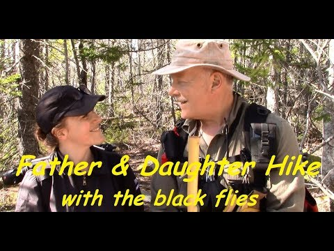 Father & Daughter Hike with the Black Flies