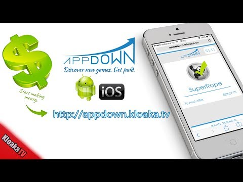 AppDown - Earn Money Downloading Free Apps and Games on iOS and Android