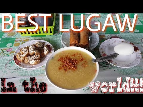 BEST LUGAW in the world l How to eat Lugaw