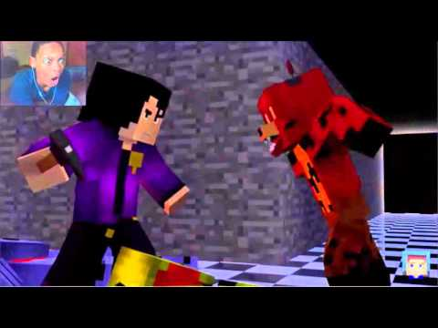 Die in a Fire (FULL MINECRAFT ANIMATION) REACTION | HEADSHOT!