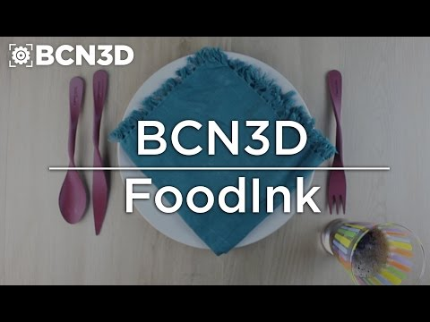 BCN3D - Printing the utensils for the world's first 3D printing restaurant FOODINK