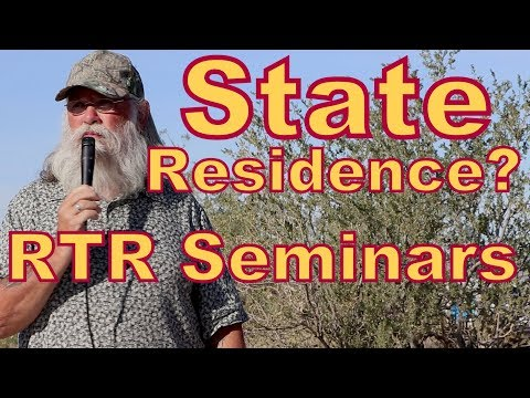 How to Choose a State of Residence: RTR Seminar