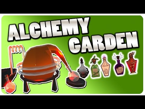 Grow n' Run Your Own Alchemy Shop! | Alchemy Garden Gameplay (Free Game)