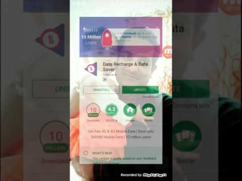 How to recharge internet pack for free