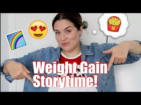 Why I am SO HAPPY I gained 70lbs after LOSING 147lbs!   LoseitlikeLauren