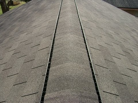 How to: Roofing - Capping and Installing Ridge Vent