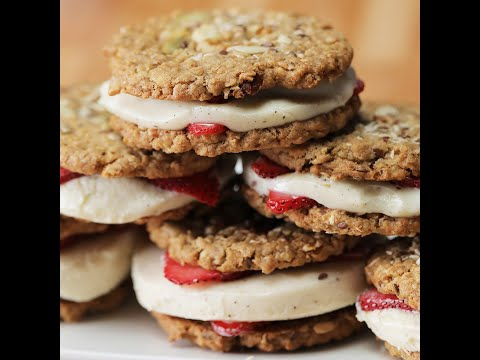 Breakfast Ice Cream Sandwiches