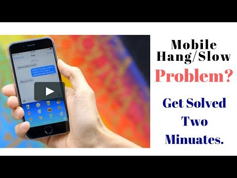 Mobile hang/slow problem/how to solve hang problems/How to stop mobile hanging problem/কিভাবে