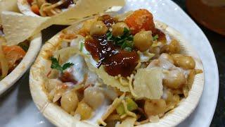 Aloo Cholay chana chat   bazaar Jaisi street style   iftari Ramazan recipe ideas by zaika dilli 6