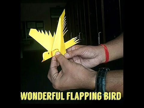 How to make a paper flying bird | origami