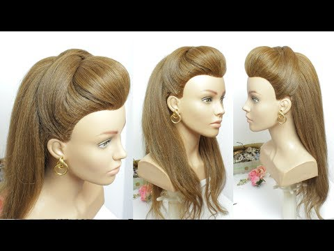 Popular Hairstyle For Long Hair  With Front Puff