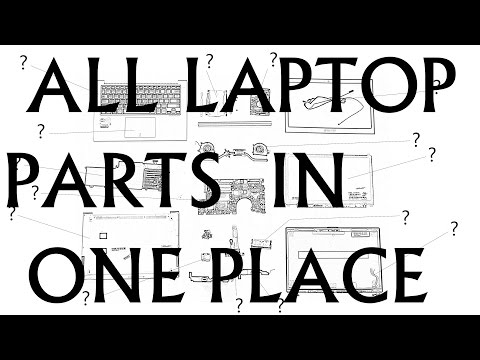 What is this part in a laptop? Guide for All Laptop Parts!  How to name a laptop part?