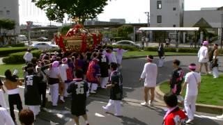 2014年7月20日(日) JR姉ヶ崎駅前集結 下町神輿到着@姉崎神社夏季例大祭