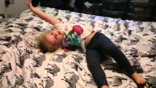 3 year old dancing to Everything Is Awesome