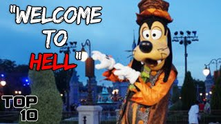Top 10 Scary Things Told By Disney Employees - Part 6