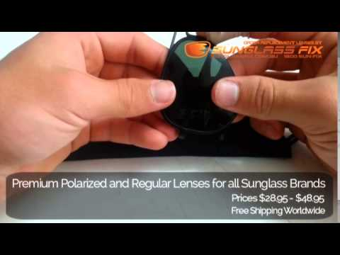 Ray Ban Liteforce RB4180 Sunglasses, How to replace the Lenses
