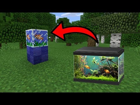 How to Trade for an AQUARIUM in MCPE (Minecraft PE)