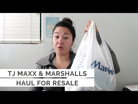 TJ Maxx & Marshalls Yellow Tag Clearance Haul to Sell on Ebay