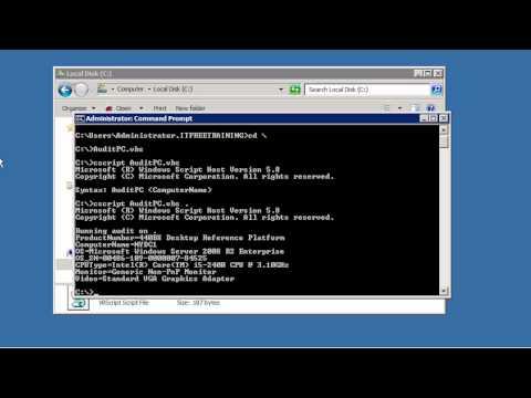 MCITP 70-640: VBScript