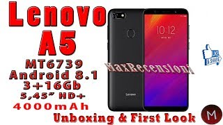 Lenovo A5 my review after 2 days of use plus amazon gift