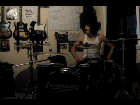 Asking Alexandria - A Prophecy drum cover