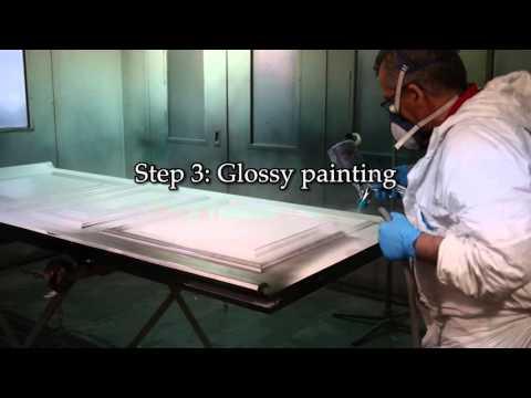 How to Make a High Gloss Door