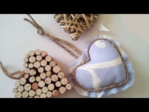 How To Make A Romantic Fabric Heart - DIY Home Tutorial - Guidecentral