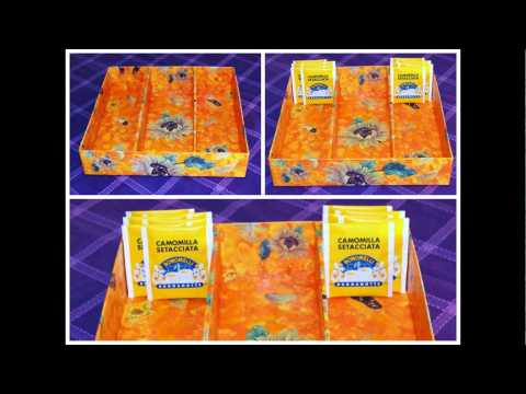 paper mache boxes made DIY!