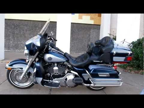 2002 Harley-Davidson Ultra Classic, low miles, for sale, Fat Pig Slip on Exhaust