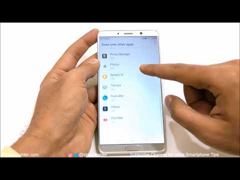 Huawei Mate 10 / Mate 10 Pro - How to Configure Apps and Notifications for Privacy and Productivity