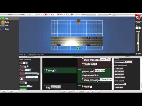 Hour of Code: Make a 3D game with AgentCubes online