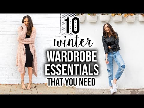 10 WINTER WARDROBE ESSENTIALS THAT YOU NEED ♡